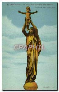Old Postcard Albert the Virgin of gilded Basilica Bell