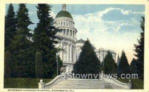 Northwest Approach to Capitol - Sacramento, CA