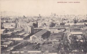 BARCELONA, Cataluna, Spain, 1900-1910's; Vista General