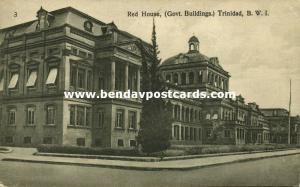 trinidad, B.W.I., PORT OF SPAIN, Red House Government Buildings (1920s)