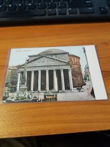 Antique Postcard entitled, Roma - Pantheon  Unposted.  Good shape