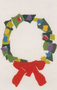 CHRISTMAS , 1950-60s ; LITTLE CITY Art Studio by Children & Adults with Menta...