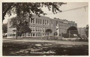 RP: OSCODA , Michigan, 1930-40s ; High School