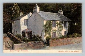 Grasmere, UK-United Kingdom, Dove Cottage, Abraham's Series, Vintage Postcard