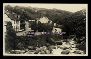 tp2622 - Devon - Rockford Hamlet & Rockford Inn from Bridge, c1950s - postcard