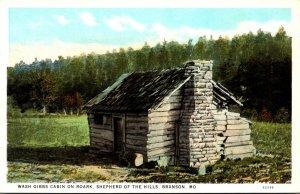Missouri Branson Wash Gibbs Cabin On Roark Shepherd Of The Hills Curteich