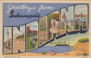 Greetings from Indianapolis, Indiana,  30-40s