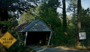 Ruffs Mills Covered Bridge Marietta GA Unused