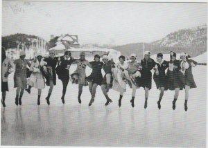 Olympic Games St-Moritz Skaters Switzerland 1928