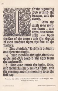 RP: Page 1 of the English Bible , 00-10s