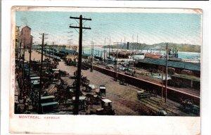 MONTREAL, Quebec, Canada, PU-1906; Harbour