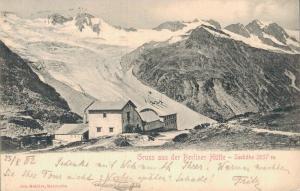 Germany Gruss aus der Berliner Hütte Seehöhe 02.07