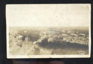 RPPC CAMP PIKE ARMY BASE LITTLE ROCK ARKANSAS MILITARY REAL PHOTO POSTCARD