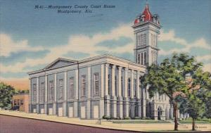 Alabama Montgomery County Court House 1955