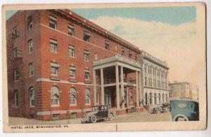 Hotel Jack, Winchester VA