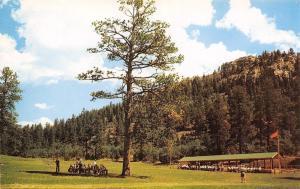 Cimarron NM~Philmont Boy Scout Ranch~Cimarrancito Base Camp~Rifle Range~1960s