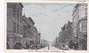 HUNTINGTON, Indiana , 00-10s ; North Jefferson Street