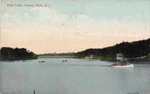 Deal Lake Asbury Park New Jersey 1909