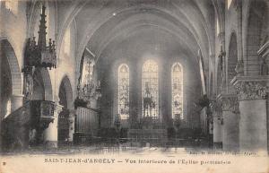 France Saint Jean d'Angely, Vue interieure de l'Eglise Church Interior