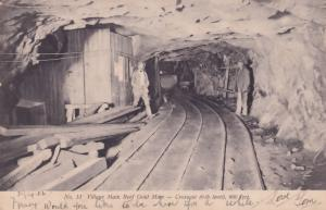 Gold Mines South African  Main Reef Railway Crosscut Mining Antique Postcard