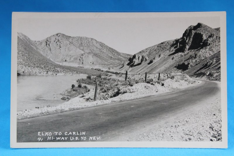 L20027 Lincoln Highway, Elko to Carlin, HI-Way U.S. 40, Nevada RPPC