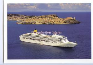 LN0744 - P&O Liner - Aurora , built 2000 - postcard