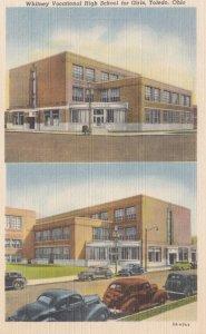 TOLEDO, Ohio , 30-40s; Whitney Vocational High School For Girls