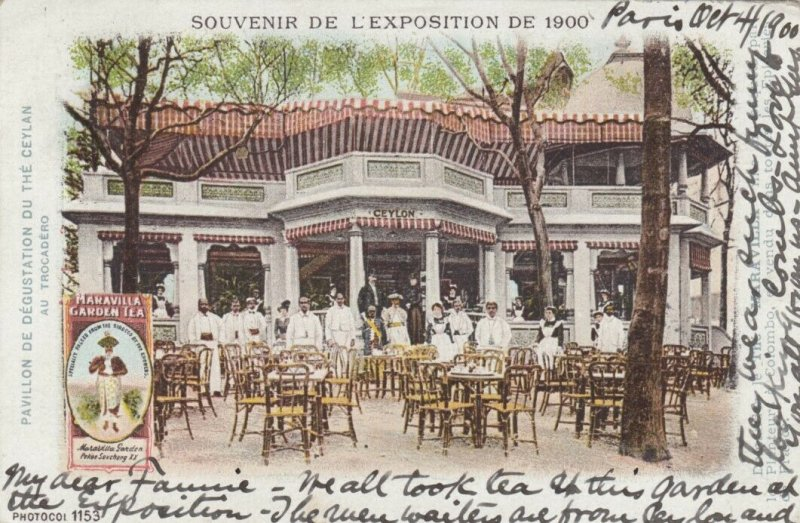 PARIS , France , 1900 Exposition ; Ceylon Pavilion