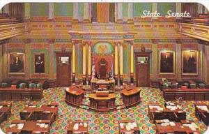 Michigan Lansing State Capitol Building State Senate Chambers