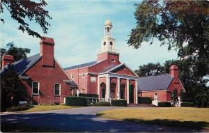 Clinton Connecticut~Andrews Memorial~1950s Postcard