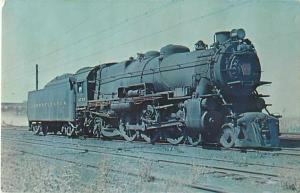 Pennsylvania  Railroad  K-4 Pacific #3752 at South Amboy New Jersey in 1954