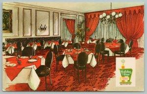 Vicksburg Mississippi~Holiday Inn Dining Room~Vintage Postcard