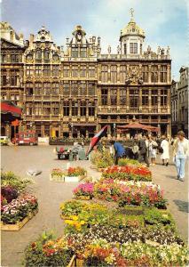 BR2848 Bruxelles Grand place et marche aux fleurs  belgium