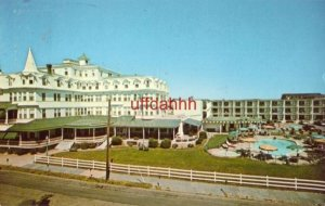 THE COLONIAL HOTEL AND NEW MOTOR LODGE Where Friends Meet CAPE MAY, NJ.