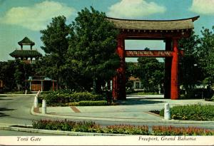 Grand Bahama Freeport International Bazaar Japanese Torii Gate