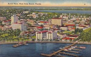 Florida West Palm Beach Aerial View