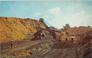 D82/ Madisonville Central City Kentucky Ky Postcard Chrome Coal Mine Vogue Strip