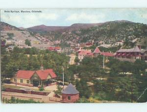 Divided-Back POSTCARD FROM Manitou Colorado CO HM7673