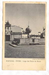 Largo Das Portas De Moura, Evora, Portugal, PU-1952