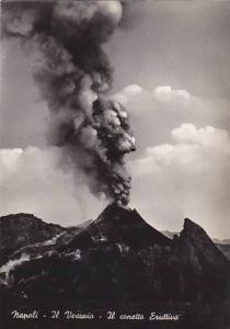 RP, Volcano, Eruption Of Vesuvio, Il Conetto Eruttivo, Napoli (Campania), Ita...