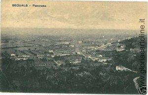 01252   CARTOLINA d'Epoca: SEQUALS - PORDENONE