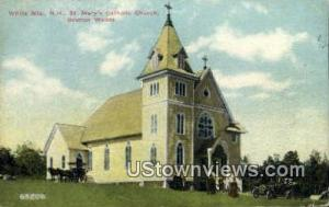 St Mary's Catholic Church White Mountains NH 1912 Missing Stamp