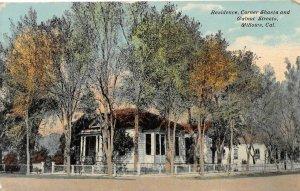 Residence, Shasta & Walnut Streets, Willows, California c1910s Vintage Postcard