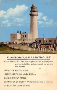 Flamborough Lighthouse, 1806 by Mr. John Matson, Phare