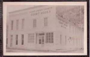 Co Georgetown Clear Creek County Court House Real Photo