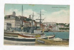Cannes, France, PU-1910 , Le Port