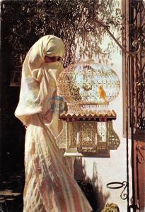 Tunisia Fatma et Cage Sidi Bou Said