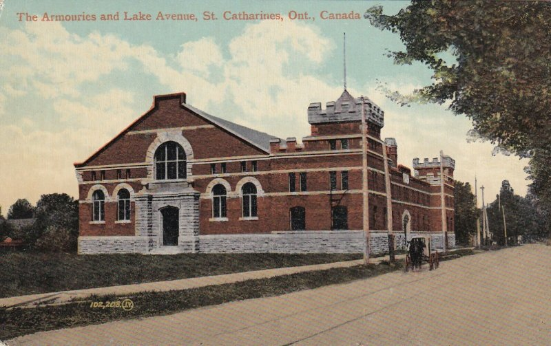 ST. CATHARINES, Ontario, Canada, 1900-1910's; The Armouries