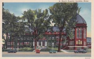 Maine Lewiston St Mary's Hospital Curteich