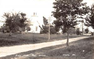 Hope Maine Church Real Photo Antique Postcard K50436
